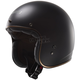 Matte Black Kurt Bobber OF588 Open Face Helmet