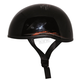 Sacrifice Black/Orange Retro Old School Helmet