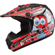 Youth Black/Red GM46.2 Superstar Helmet