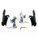 Night Shades Black No-Tool Trigger-Lock Hardware Kits for Fats/Slim - MEB8963