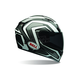White/Black Machine Qualifier Helmet