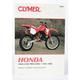 Honda Dirtbike Repair Manual - M442