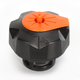 Black w/Orange Quick Fill Fuel Cap - QCKTMO