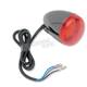 Black Custom Rear Light Assembly, w/Red Lens - 8510R