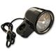 Black Tachometer w/Black Face - BA-7570-01B