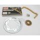GB530GXW Chain and Sprocket Kit - 4107-980WG