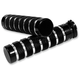 Night Series Knurled Notched Grips - GR100-KNN