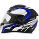Black/Blue FX-95 Airstrike 2 Helmet