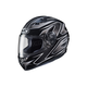 Black/Silver MC-5 CS-R3 Spike Helmet