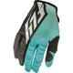 Teal/Black Kinetic Gloves