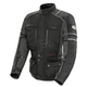 Black/Gunmetal Ballistic Adventure Jacket