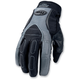 Black/Gray Riding Gloves