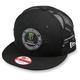 Black Patch Snapback Hat - 6711167125