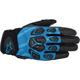 Black/Blue Masai Gloves