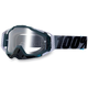 Gray/Black Racecraft Goggles w/Clear Lens - 50100-025-02