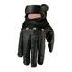 Womens Black 243 Leather Gloves