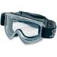 Gray Moto Goggles - MG-GRY-00-BK