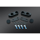 Black handlebar riser setback  - 7438