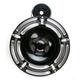 Black Slot Track Billet Horn Kit - 70-209