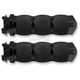 Black Anodized Air Cushioned Grips w/Throttle Boss - MTAIR90ANBOS