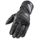 Black Pro Street Leather Gloves