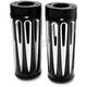 Black Deep Cut Fork Boot Covers - 20-028