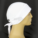 White Stretch Z-Wrap with White Mesh Sides - BNDNA003-18