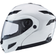 Pearl White GM54 Modular Helmet