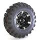 Front Right Machined 26x9-12 Black Slingshot Tire/Wheel Kit - 2014-011R