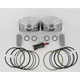 Hypereutectic Piston Kit - 3.875 in. Bore - KB409C-STD