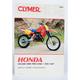 Honda Dirtbike Repair Manual - M443