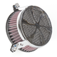 Chrome Swept Air Cleaner - 06-0270-01