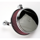 Chrome Stage I Big Sucker Performance Air Cleaner Kit w/Standard Filter - 18-323