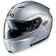 Silver Metallic SY-Max III BT Modular Helmet