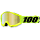 Youth Fluorescent Yellow Accuri Goggle w/Mirror Red Lens - 50310-004-02