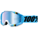 Blue/Black Accuri Crystal Goggle w/Mirror Blue Lens - 50210-122-02