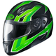 Neon Green/Black CL-Max 2 MC-4 Ridge Modular Helmet