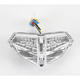 Light Werkes Clear Integrated Taillights - TL-D1098-C