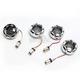 Chrome Bullet Ringz LED Turn Signal Kit - BTR-KIT-BCM2C