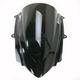 Dark Smoke Double Bubble Windscreen - 16-914V-19