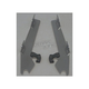 Polished Batwing Plate-Only Hardware - MEK1809