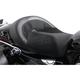 Black Leather BigIST Solo Air Seat - FA-DGE-0281