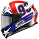 Red/White/Blue RF-1200 Marquez Indy TC-2 Helmet