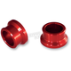 Rear Red Wheel Spacers - RWS301