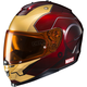 Metallic Maroon/Gold Marvel MC-1 IS-17 Ironman Helmet