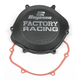 Factory Racing Black Clutch Cover - CC-02AB