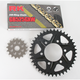 GB525GXW Chain and Black Sprocket Kit - 2108-064AK