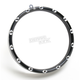 Black 7 in. Fire-Ring LED Bezel w/Turn Signals - 08-411