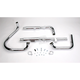 Staggered Dual Tapered Tips Exhaust System - 003-0721
