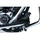 Gloss Black Extended Brake Pedal - 9671
